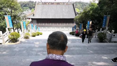 七十岁退休老伯,画了九年西樵山,画作堆起来有一人多高