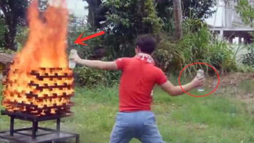 """最新型""""灭火球""""出世!只需往火中一扔,3秒内大火自动熄灭!"""