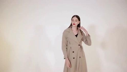 风衣+阔腿裤=今秋最时髦百搭cp