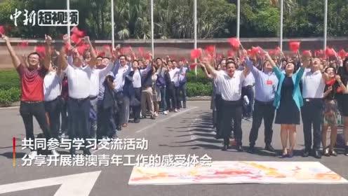 港澳地区青联委员相聚深圳祝福香港点赞祖国