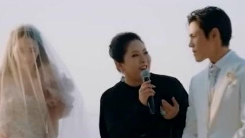 向佐郭碧婷大婚视频首曝光!向太致词保证郭碧婷幸福,郭爸放心了