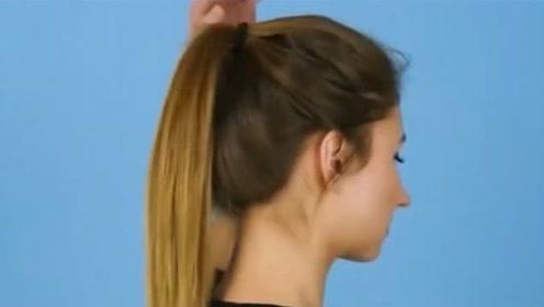 马尾怎么绑蓬松又好看?发型师传授不老气韩系马尾绑法