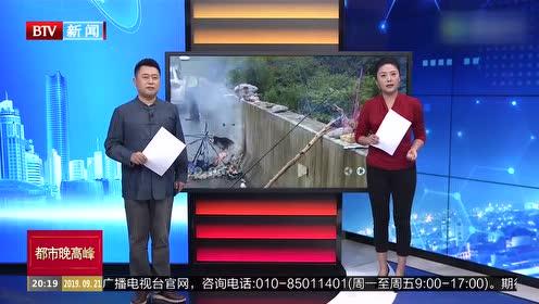 重庆:高速路车出故障 司机害怕烧香壮胆