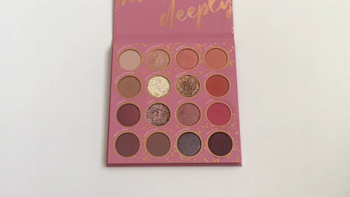 Colourpop的眼影盘种草,足足有16色,打造魅力眼妆没问题!
