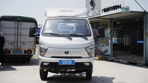 柴油小卡厢长4米,缔途DX气刹版评测