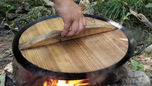 在农村这样吃豆腐,头一次见这种新鲜的吃法,看着好香