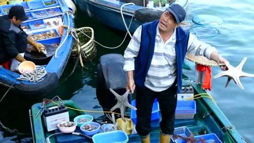 香港最接地气市场,西贡海鲜市场,最新鲜的海鲜直接这渔船上买!