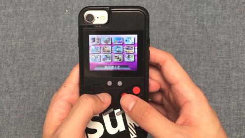 29.9的游戏机手机壳开箱,戴上手机那一刻:都不想玩手机了!