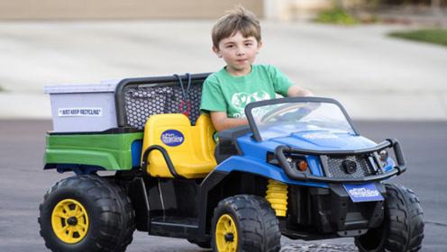 世界上年龄最小的CEO,7岁男孩靠分类垃圾,成功收获第一桶金