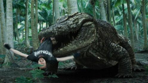 探险队惨被史前巨鳄捕猎,血战巨鳄损失惨重!