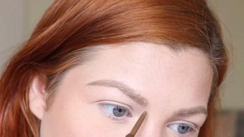 精致好看的眉毛怎样打造,3分画7分修,效果太美了!