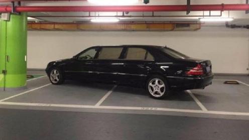 奔驰霸占3个停车位,但却无人敢打挪车电话,看见车型时懂了!