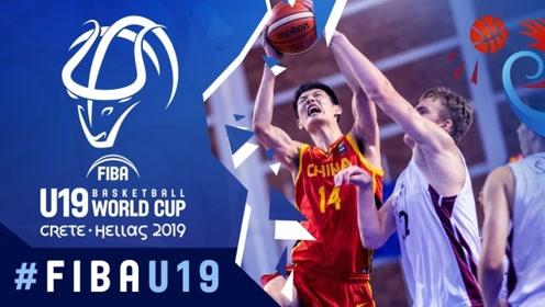 U19中国男篮世青赛十佳球 郭昊文妙传徐杰关键上篮杀死比赛