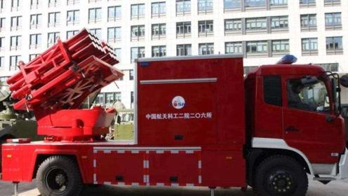"""中国首创""""投弹消防车"""",可灭100层高楼,一辆价值2000万"""