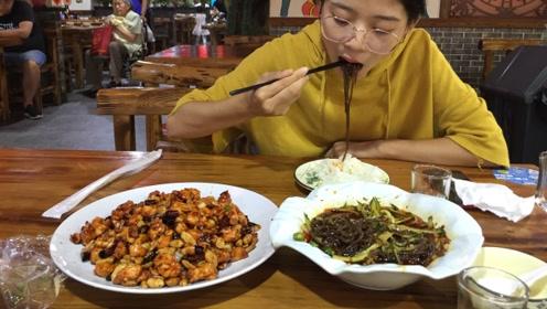 河北小情侣到天津旅游,80多块钱吃一顿午餐,味道好极了!