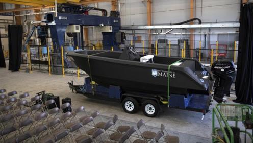 全球最大的3D打印船来了!可下水航行