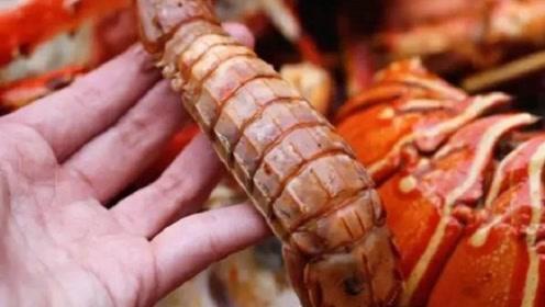 皮皮虾剥皮这么简单,一根筷子一撕就完事,再也不怕扎嘴了