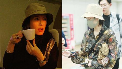 章子怡和张雪迎远不止一起旅行而已!