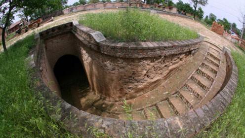 中国最牛的千年古村,整个村落都在地底下,下雨排水方式惊呆众人