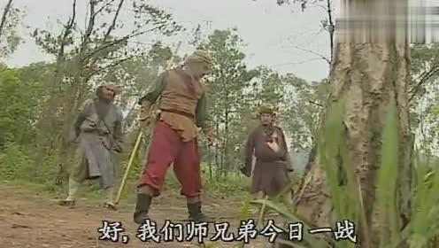 美猴王:猪八戒大战孙悟空,直接肉搏,沙僧居然帮八戒揍大师兄