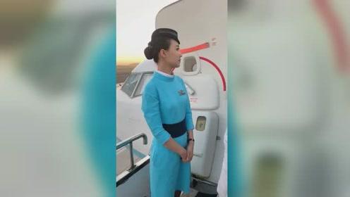 厦门航班的小姐姐,长得也太好看了