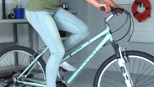 老外研发女生专用自行车,还能电力驱动,看后算是开眼界了