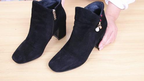 原来清理绒面鞋这么简单,不用一滴水,每天都能穿新鞋,太实用了