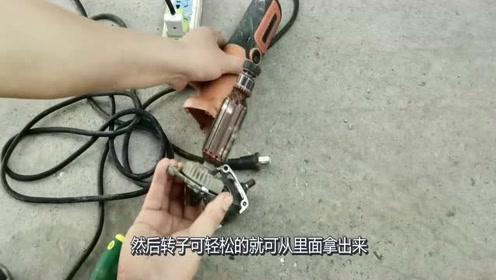 男子把磨机嫁给电钻,功能没想到如此强大