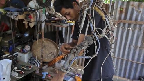 废料就能制作假肢,还能用脑电波控制,真的好用吗?