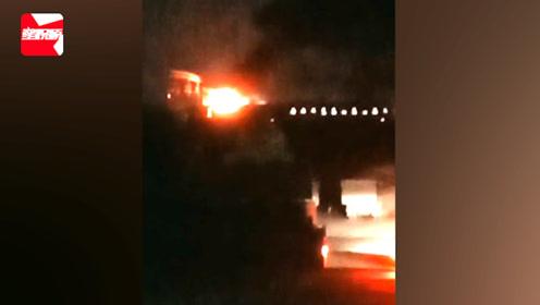 上海南至开化的列车冒烟起火, 官方:尾部机车突发故障