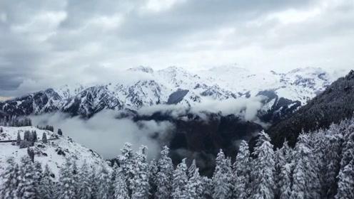双十一买秋裤?太晚了,这些地方喜提初雪,风景美如画