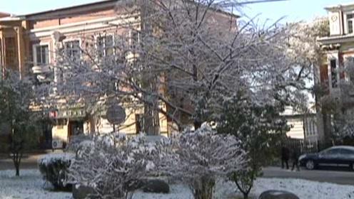 北方都冻得发黑了?绥芬河白雪覆盖,市民:我们供暖四天了