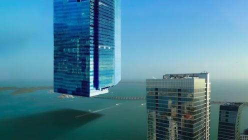 美国最大摩天大楼有多牛,建筑师在半空中修建,真实高度让人难以置信!