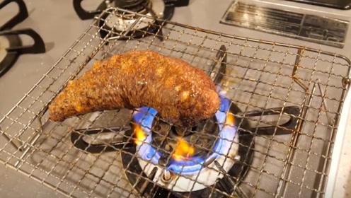 海参一直在火上烧,会发生爆炸吗?一起来见识下