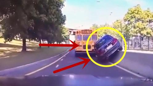"""男子弯道超车,上演尴尬版""""速度与激情""""!"""