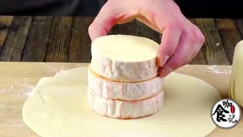 自己亲手做的奶酪蛋糕,真的是外酥里嫩,堪称人间美味!