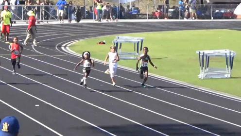 7岁孩子有望超越博尔特,一百米13.48秒,很多成年人都跑不过他!
