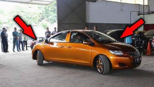 世界上最奇葩的汽车,两个头两个方向盘,网友:这怎么开?