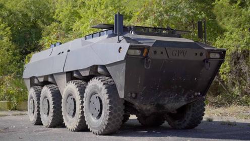 世界上唯一的私有两栖作战车多强悍?瞬间碾压汽车,不可阻挡!