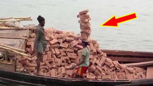 印度硬核搬砖工,头顶小别墅!网友:这才是最强大脑!