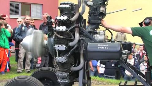 你见过飞机发动机吗?实拍启动全过程,太壮观了