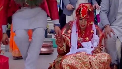 """尼泊尔奇葩的结婚习俗,女生第一次竟不是嫁给人类,而是""""它""""!"""