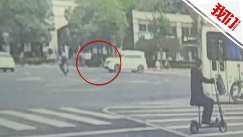 西安22岁辅警殉职前事发视频曝光:下意识拦停肇事车辆被撞倒