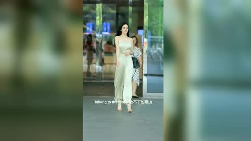 韩国网红潘南奎,后面的大妈都被其美貌吸引了,一路狂追!