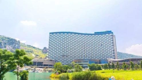 中国酒店取代帆船酒店成全球最大 2.8万间客房住完要76年