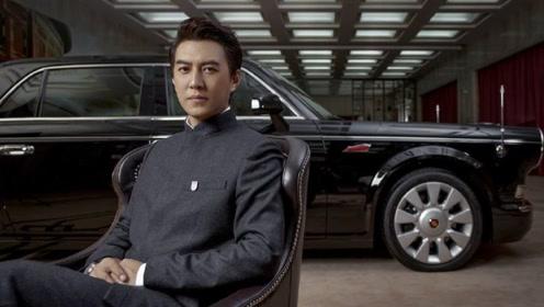 靳东600万座驾曝光,全球仅有100辆,车友:是每个男人的梦想!