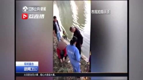 南京:这小子真帅!环卫公司80后勇敢救落水者