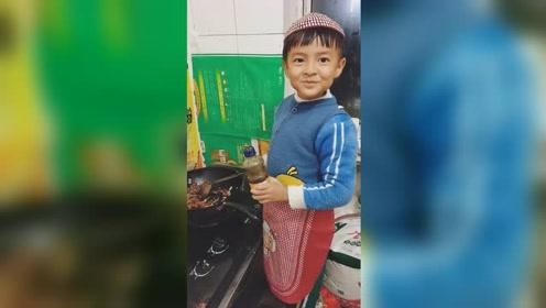 """6岁小男孩为全家做饭走红,""""教科书式""""讲解堪比专业厨师"""