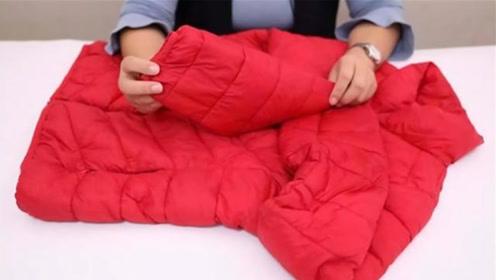 才发现,清洗羽绒服这么简单,5分钟超级干净,还能马上穿,厉害