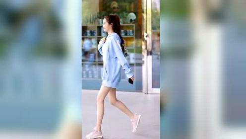 是不是瘦瘦的小姐姐走路都特别轻快